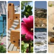 Greece collage — Stock Photo
