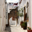 Stock Photo: Street in Lindos, Rhodes island