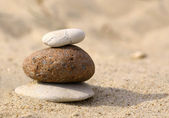 Stones at the sea side — Stock Photo