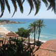 Stock Photo: View to bay and beach - Spain