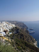 Santorini - caldera view — Stock Photo