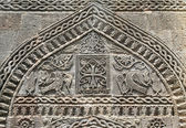 Decorative stone carving — Stock Photo