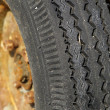 Used wheel and tyre — Stok Fotoğraf #2261012