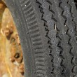 Used wheel and tyre — Stock Photo #2261012