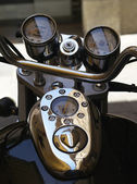 Motorcycle detail — Stock Photo