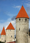 View of old Tallinn, Estonia — Stock Photo