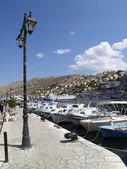 Embankment on the Symi — Stockfoto