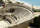 Ruins of ancient amphitheater — Stock Photo