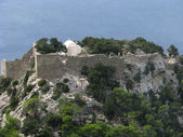 Stronghold Monolithos — Stock Photo