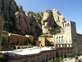 Montserrat monastery — Stock Photo