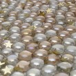 Royalty-Free Stock Photo: Balls with gold stars background