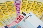 European notes — Stock Photo