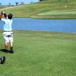 Golfista — Foto Stock