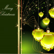 Merry Christmas background — Stock Photo #1890197