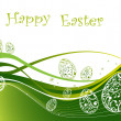 Happy Easter background — Stock Photo