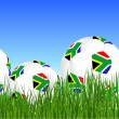 2010 World Cup South Africa balls — Vettoriali Stock