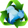 Recycle, reuse, reduce — 图库矢量图片