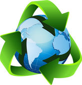 Recycle, reuse, reduce — Stockvektor