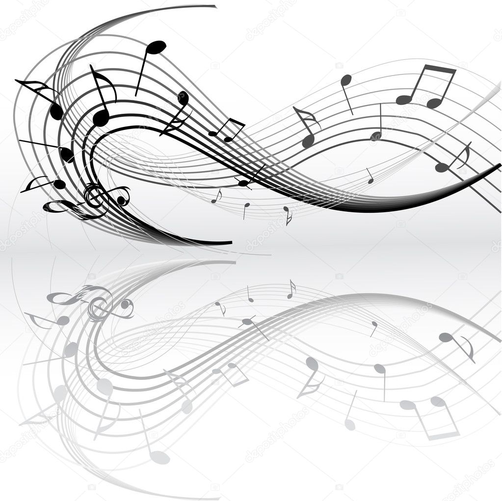 Music notes — Imagen vectorial #1935703