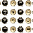 Royalty-Free Stock Vector Image: Horoscope icons