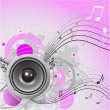 Royalty-Free Stock Векторное изображение: Loudspeaker background