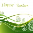 Happy Easter background — Stockvectorbeeld