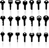 Key illustration — Stock Vector