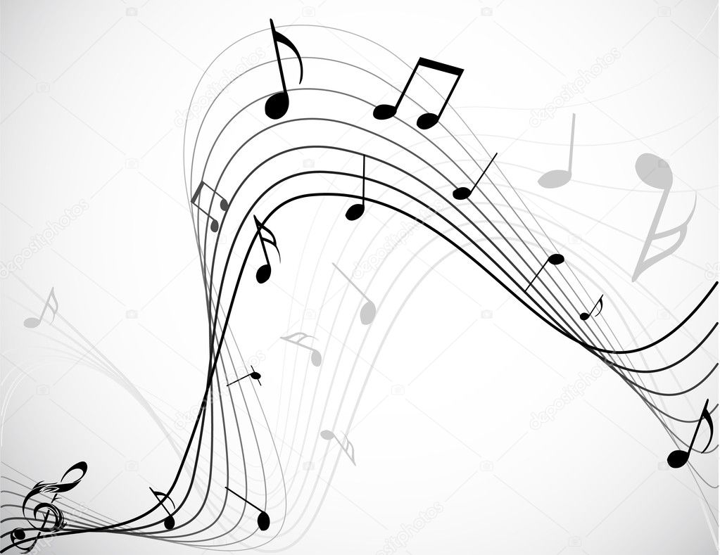 Music notes — Stock Vector #1947858