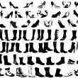 Shoes illustration - Imagen vectorial