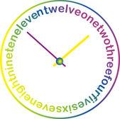 Illustration of clocks — Stockvektor