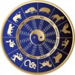 Royalty-Free Stock Imagen vectorial: Chinese horoscope