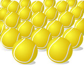 Tennis balls — Stock Vector