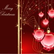 Merry Christmas background — Imagen vectorial