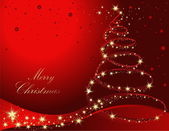 Merry christmas achtergrond — Stockvector