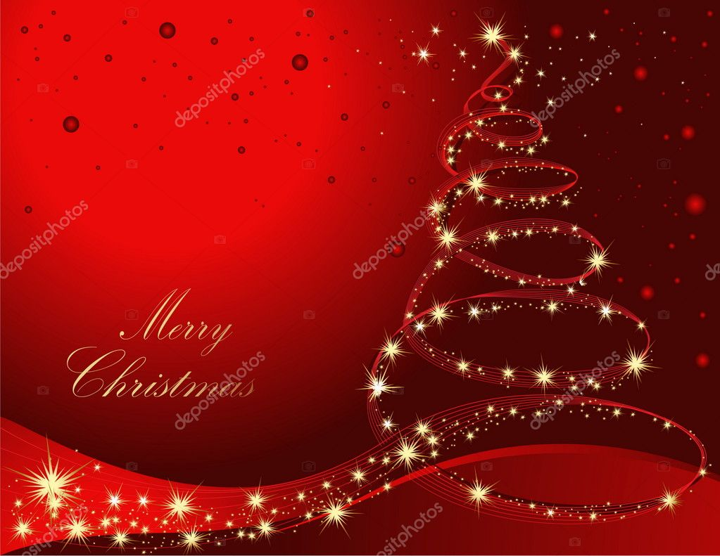 Merry Christmas background  Imagen vectorial #2001348