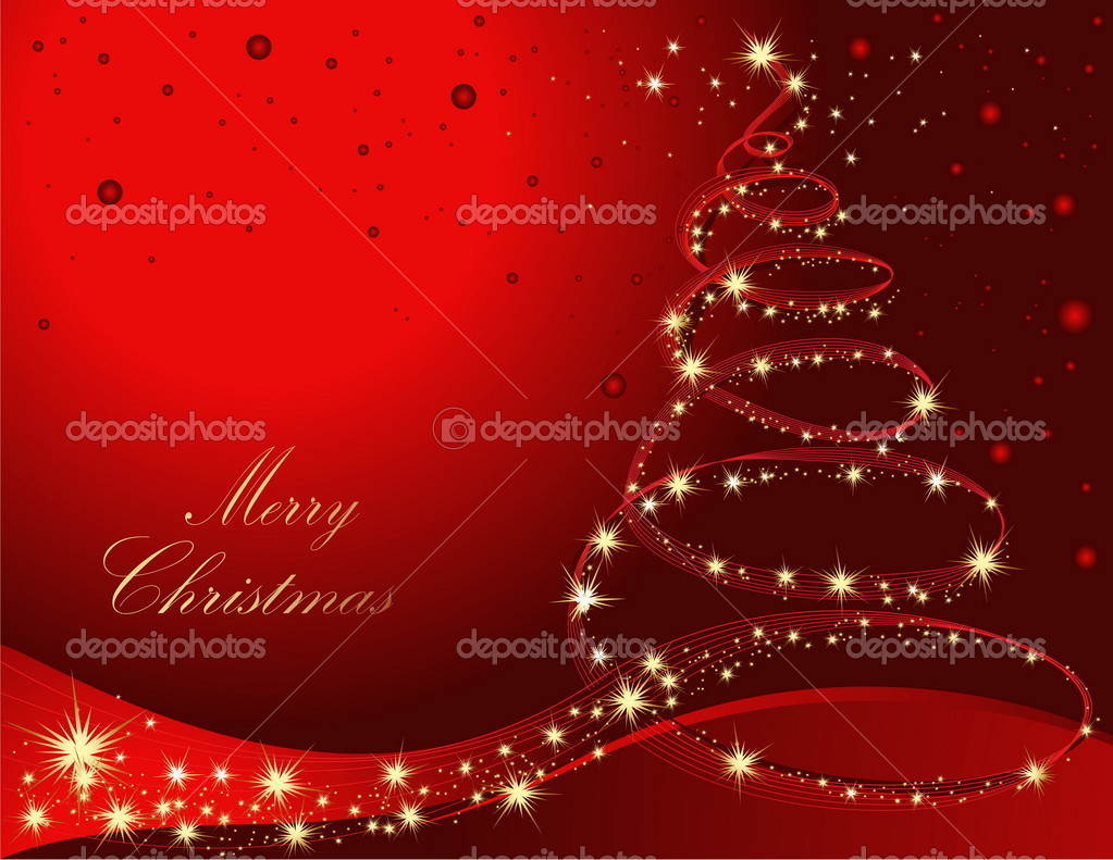 Merry Christmas background — Imagen vectorial #2001348