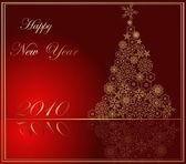 Happy New Year background — Cтоковый вектор