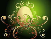 Happy Easter background — Stock Vector