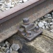 Stock Photo: Abandoned railroad