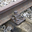 放棄された鉄道 — ストック写真