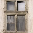 Old ruined window — Stock Photo