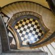 Very old spiral stairway case — Stock Photo #2464797