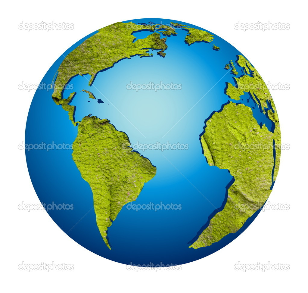 model of earth globe stock photo jelen80 2573488. Black Bedroom Furniture Sets. Home Design Ideas