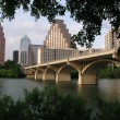 Congress Avenue Bridge - Stock Photo
