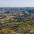 badlands, theodore roosevelt national park, medora, north dakota — Zdjęcie stockowe #1933805