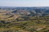The Badlands, Theodore Roosevelt National Park, Medora, North Dakota — Stock Photo