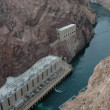 Stock Photo: Below Hoover Dam