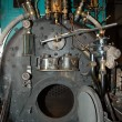 Steam locomotive innards — Stock Photo
