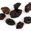 Stock Photo: Dried habanero chilis
