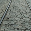 Rails & cobblestones — Stock Photo #1967494